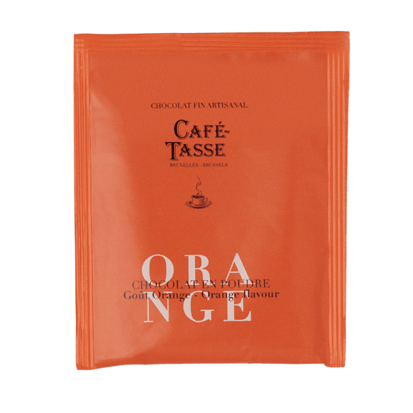 Café-Tasse шоколад на прах за пиене портокал